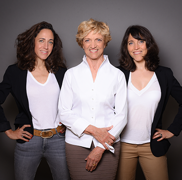Institut de Gasquet, Marine Piste, Laure Pistre et Bernadette de Gasquet